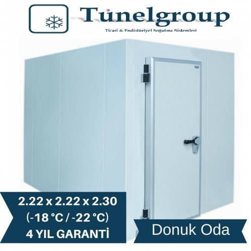 Tunel Group - Soğuk Hava Deposu | 2.22*2.22*2.30 (-18°C / -22°C)