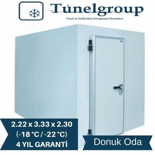 Tunel Group - Soğuk Hava Deposu | 2.22*3.33*2.30 (-18°C / -22°C)
