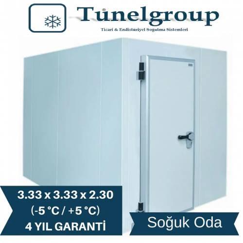 Tunel Group - Soğuk Hava Deposu | 3.33 *3.33 * 2.30 (-5°C / +5°C)