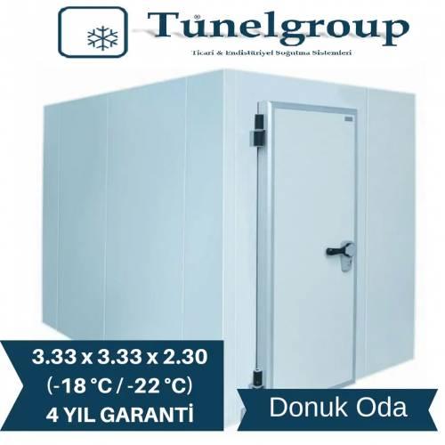Tunel Group - Soğuk Hava Deposu | 3.33*3.33*2.30 (-18°C / -22°C)