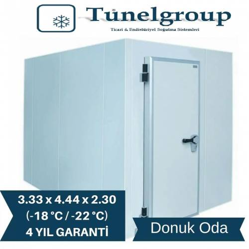 Tunel Group - Soğuk Hava Deposu | 3.33*4.44*2.30 (-18°C / -22°C)