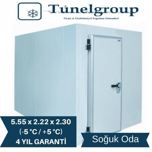 Tunel Group - Soğuk Hava Deposu | 5.55*2.22*2.30 (-5°C/+5°C)