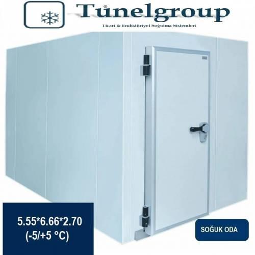 Tunel Group - Soğuk Hava Deposu | 5.55*6.66*2.70 (-5°C / +5°C)