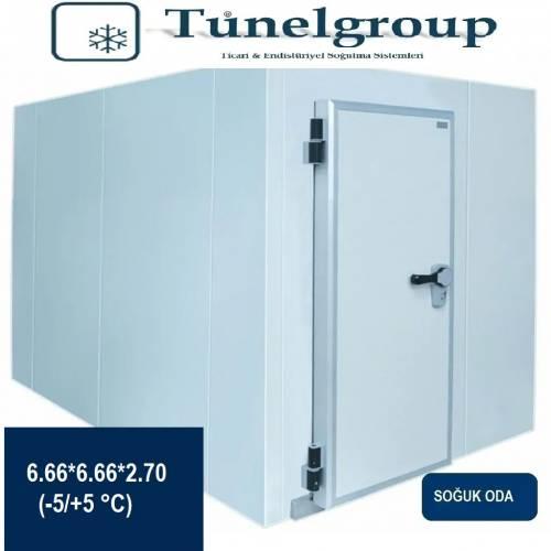 Tunel Group - Soğuk Hava Deposu | 6.66*6.66*2.70 (-5°C / +5°C)