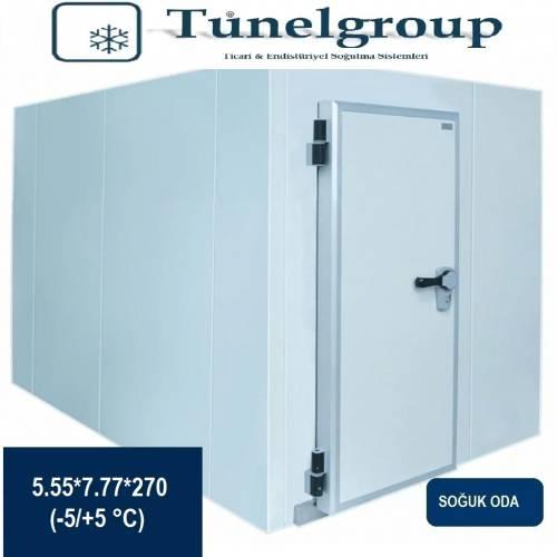 Tunel Group - Soğuk Hava Deposu | 5.55*7.77*2.70 (-5°C / +5°C)