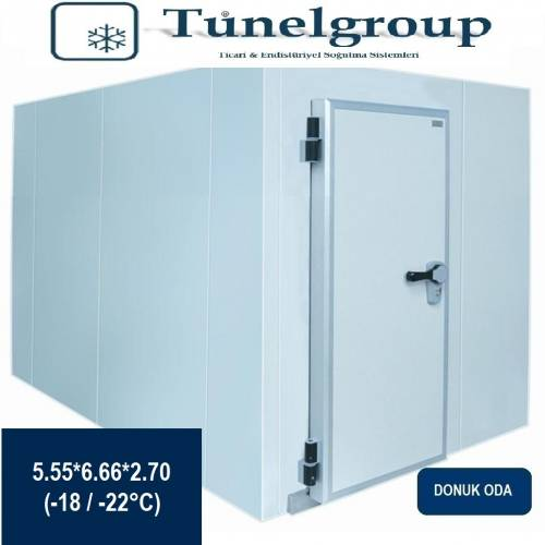 Tunel Group - Soğuk Hava Deposu | 5.55*6.66*2.70 (-18°C / -22°C)