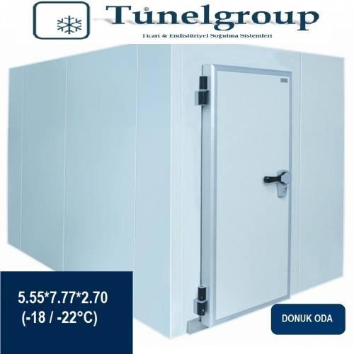 Tunel Group - Soğuk Hava Deposu | 5.55*7.77*2.70 (-18°C / -22°C)