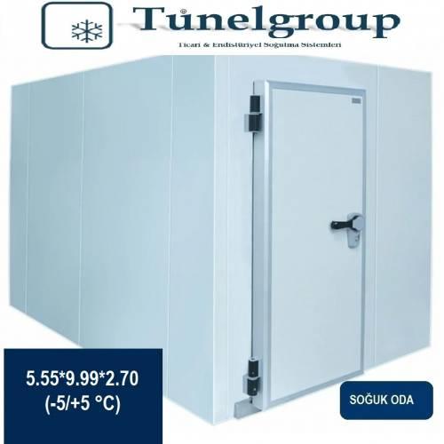 Tunel Group - Soğuk Hava Deposu | 5.55*9.99*2.70 (-5°C / +5°C)