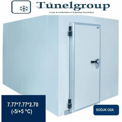 Tunel Group - Soğuk Hava Deposu | 7.77*7.77*2.70(-5°C / +5°C)