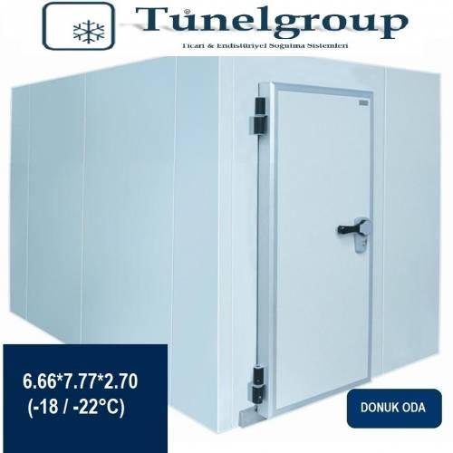 Tunel Group - Soğuk Hava Deposu | 6.66*7.77*2.70 (-18°C / -22°C)