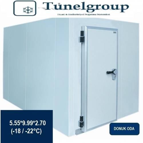 Tunel Group - Soğuk Hava Deposu | 5.55*9.99*2.70 (-18°C / -22°C)
