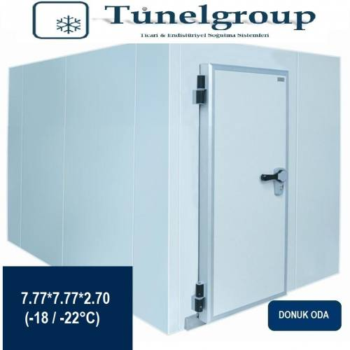 Tunel Group - Soğuk Hava Deposu | 7.77*7.77*2.70 (-18°C / -22°C)
