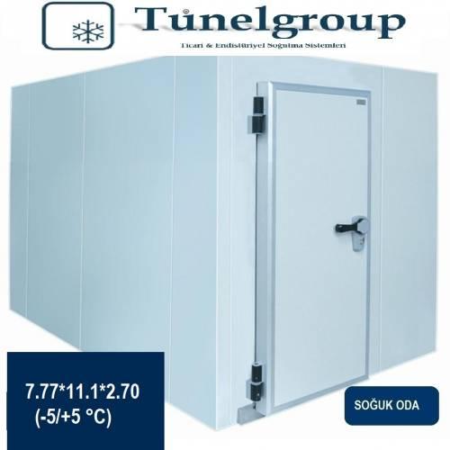 Tunel Group - Soğuk Hava Deposu | 7.77*11.1*2.70 (-5°C / +5°C)