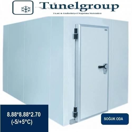 Tunel Group - Soğuk Hava Deposu | 8.88*8.88*2.70 (-5°C / +5°C)