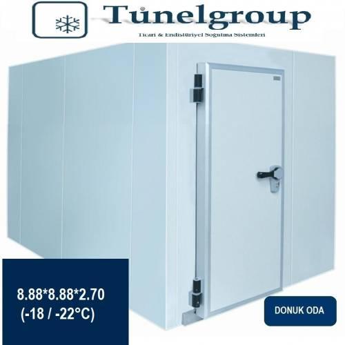 Tunel Group - Soğuk Hava Deposu | 8.88*8.88*2.70 (-18°C / -22°C)