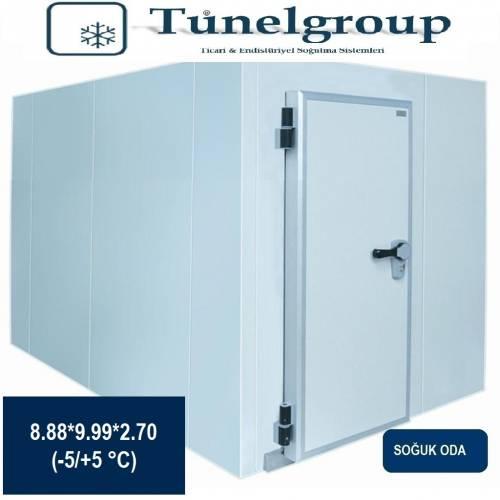 Tunel Group - Soğuk Hava Deposu | 8.88*9.99*2.70 (-5°C / +5°C)