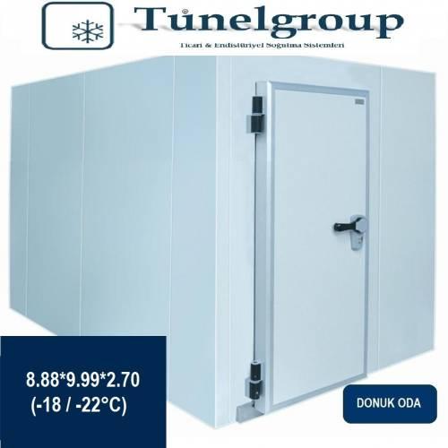 Tunel Group - Soğuk Hava Deposu | 8.88*9.99*2.70 (-18°C / -22°C)