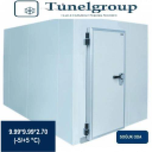 Tunel Group - Soğuk Hava Deposu | 9.99*9.99*2.70 (-5°C / +5°C)