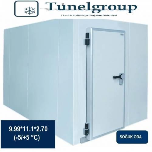 Tunel Group - Soğuk Hava Deposu | 9.99*11.1*2.70 (-5°C / +5°C)
