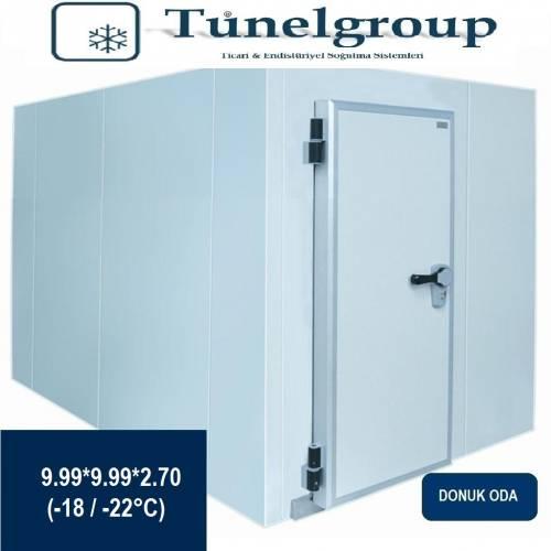 Tunel Group - Soğuk Hava Deposu | 9.99*9.99*2.70 (-18°C / -22°C)