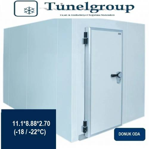 Tunel Group - Soğuk Hava Deposu | 11.1*8.88*2.70 (-18°C / -22°C)