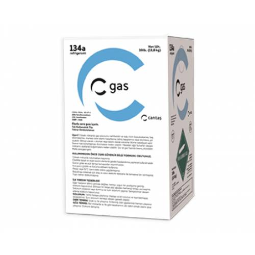 Tunel Group - R-134a C-Gas Tek Kullanımlık Tüp 13.6 Kg