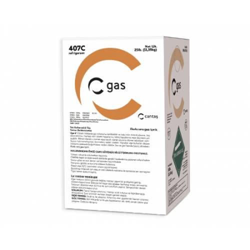 Tunel Group - R-407c C-Gas Tek Kullanımlık Tüp 11.35 Kg