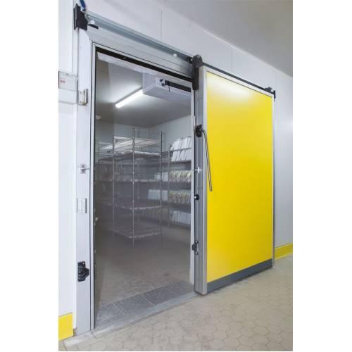 Sürgülü Kapı Soğuk Oda & Soğuk Hava Deposu Kapısı 250x220 (REZİSTANSLI)