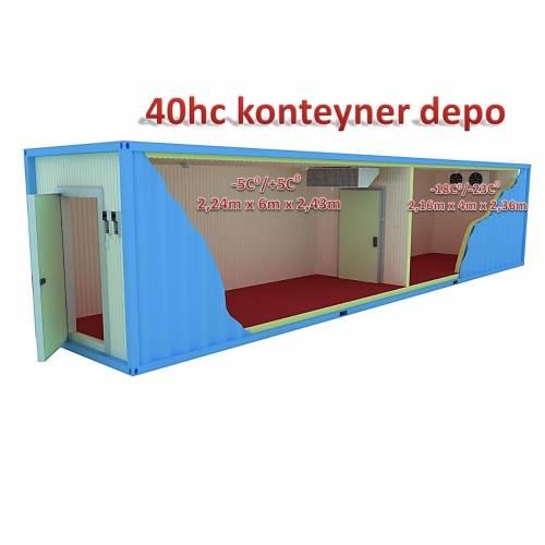 Tunel Group - Konteyner Donuk Oda ( -18°C / -22°C ) 20'lik*2