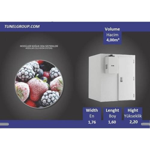 Soğuk Hava Deposu - Cold Storage (-18°C) 4,00m³