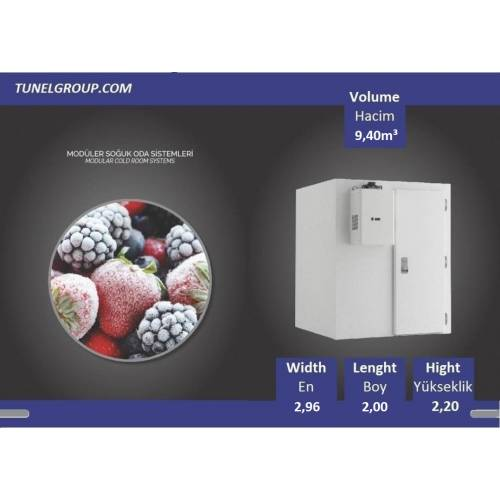 Soğuk Hava Deposu - Cold Storage (-18°C) 9,40m³